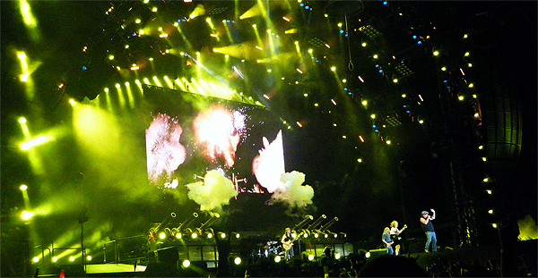 AC-DC live, Bucharest